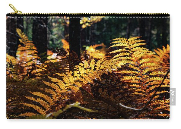 Maine Autumn Ferns Carry-all Pouch