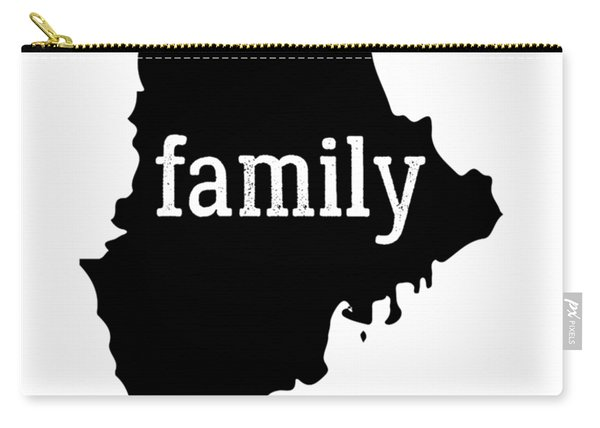 Maine Cool Gift Family State Shirt Dark Carry-all Pouch