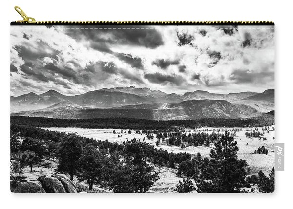 Majestic Clouds Bw Carry-all Pouch