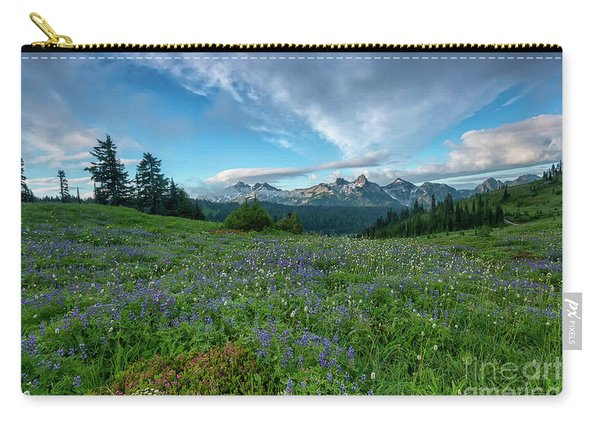 Majestic Mountain Morning Carry-all Pouch