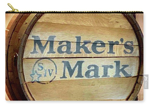 Makers Mark Barrel Carry-all Pouch