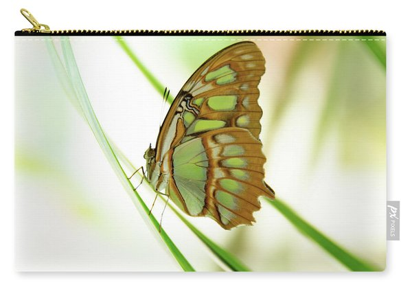 Malachites Butterfly Carry-all Pouch