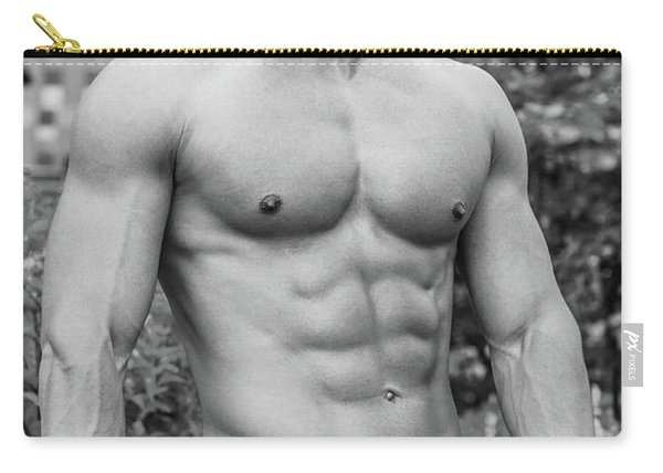 Male Torso 2 Carry-all Pouch