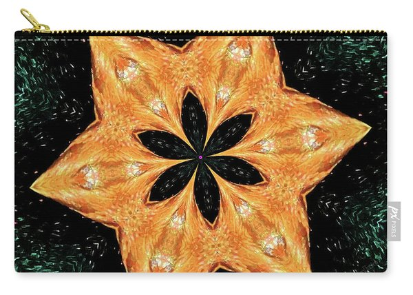 Mallard Head Mandala Carry-all Pouch