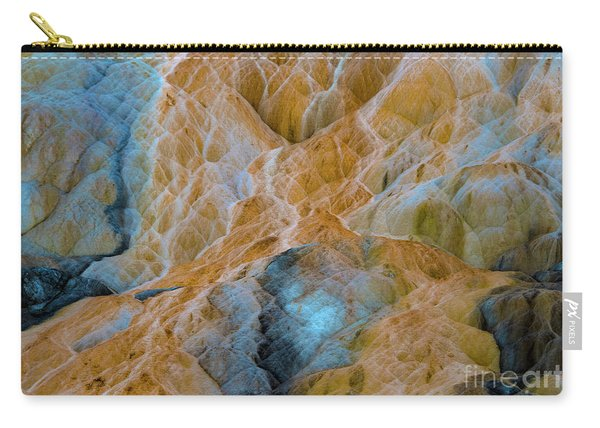 Carry-all Pouch featuring the photograph Mammoth Hot Springs by Mae Wertz