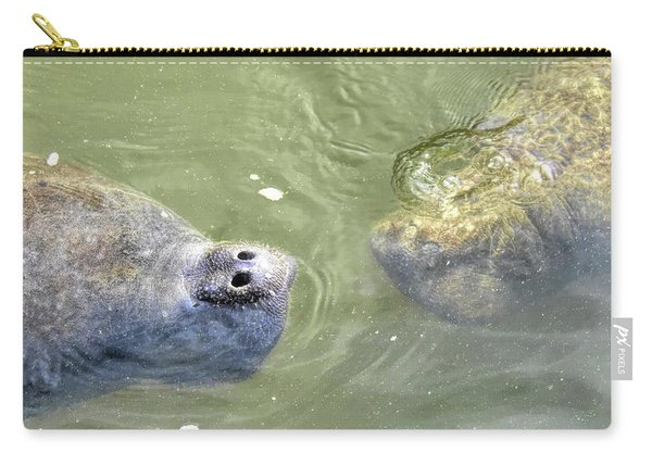 Manatee Love Carry-all Pouch