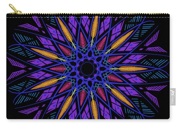 Mandala Dreamcatcher Carry-all Pouch