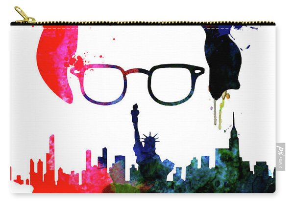 Manhattan Watercolor Carry-all Pouch