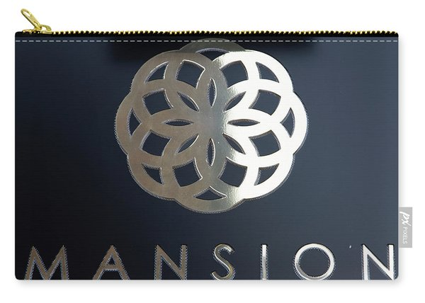Colours. Mansion Black Carry-all Pouch