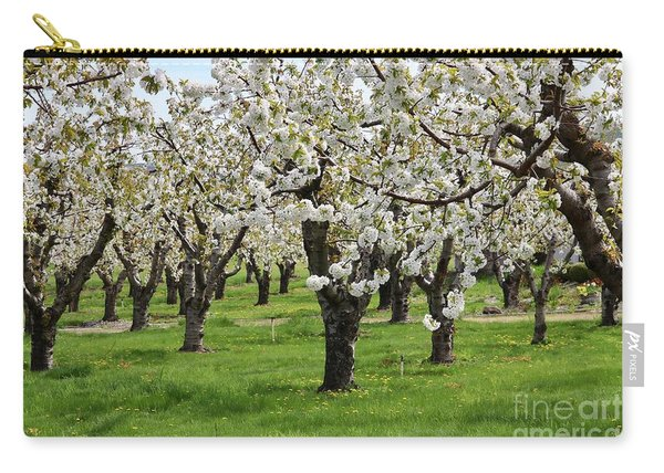 Many Cherry Blossoms In Spring Orchard Carry-all Pouch