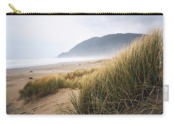 Carry-all Pouch featuring the photograph Manzanita Beach by Whitney Goodey