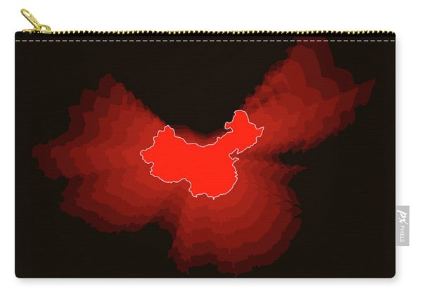 Map Of China Carry-all Pouch