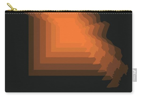 Map Of Missouri 1 Carry-all Pouch