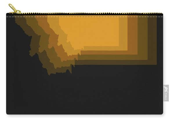 Map Of Montana 3 Carry-all Pouch
