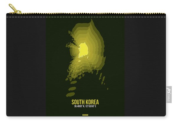 Map Of South Korea 2 Carry-all Pouch
