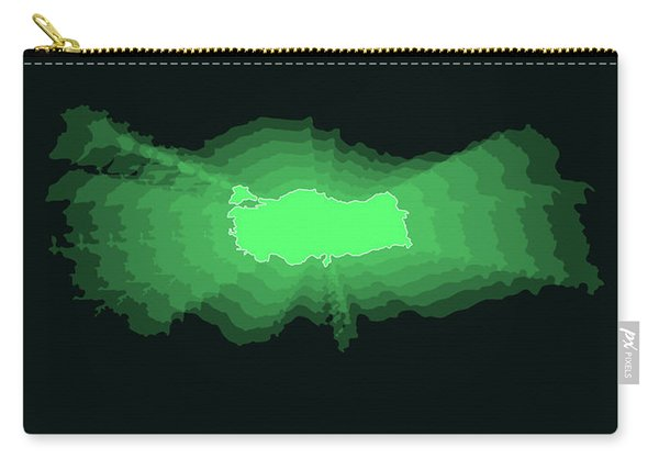 Map Of Turkey 2 Carry-all Pouch