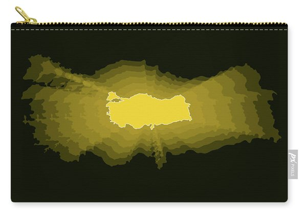 Map Of Turkey 3 Carry-all Pouch
