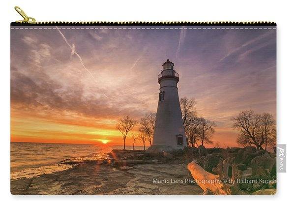 Marblehead Lighthouse Sunrise  Carry-all Pouch