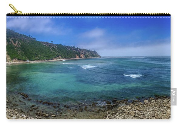 Marine Layer Over Bluff Cove Panorama Carry-all Pouch