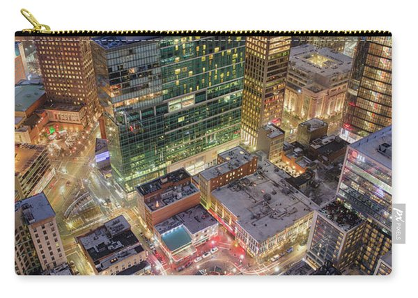 Market Square From Above  Carry-all Pouch