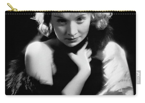Marlene Dietrich In Dishonored, 1931 Carry-all Pouch