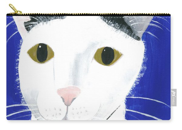 Carry-all Pouch featuring the painting Marley by Suzy Mandel-Canter