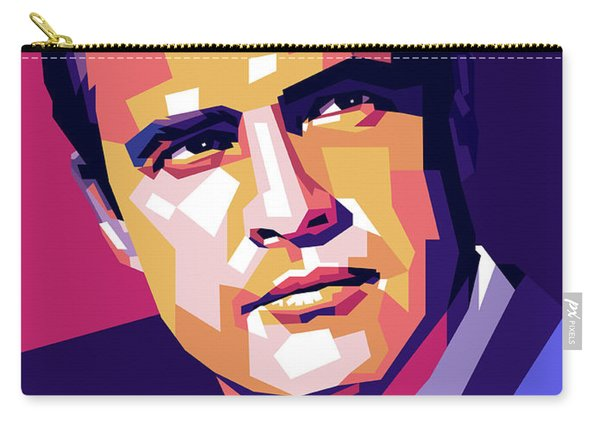 Marlon Brando Illustration Carry-all Pouch