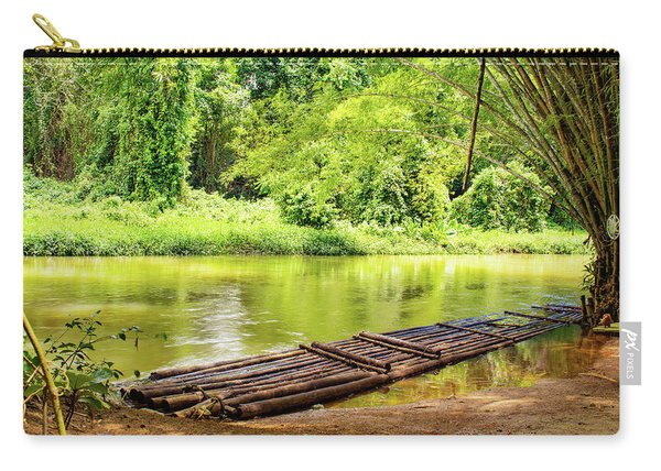Martha Brae River Bamboo Rafting Carry-all Pouch