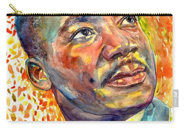 Martin Luther King Jr Portrait Carry-all Pouch