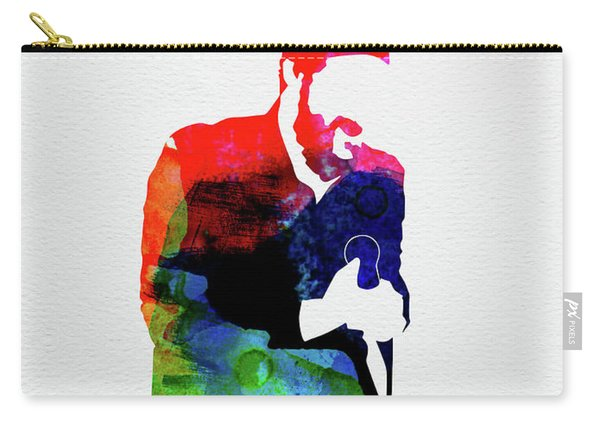 Marvin Gaye Watercolor Carry-all Pouch