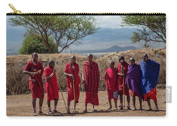 Maasai Men Carry-all Pouch