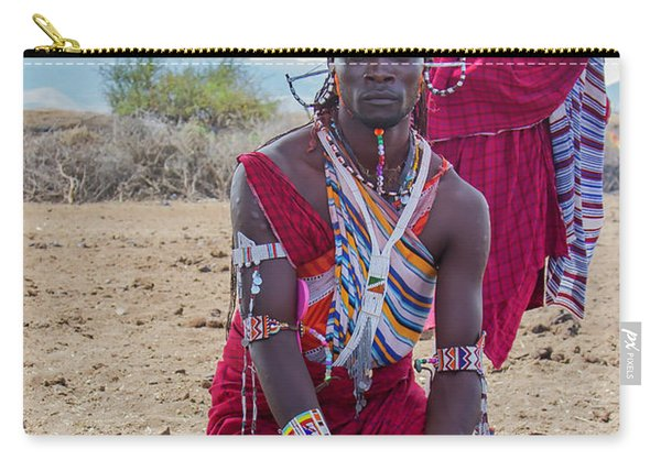 Maasai Warrior Carry-all Pouch