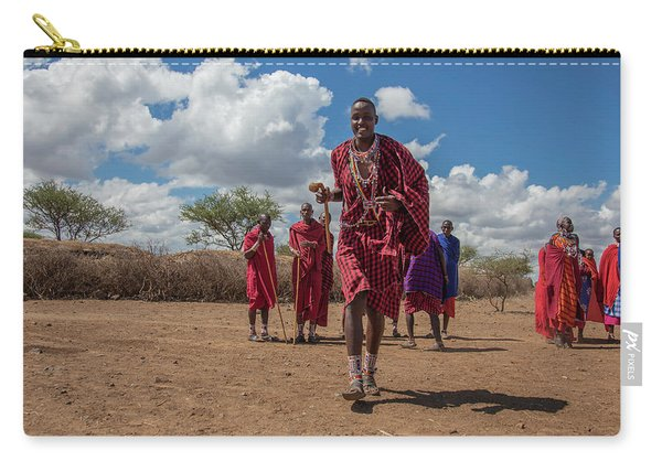 Maasai Welcome Carry-all Pouch