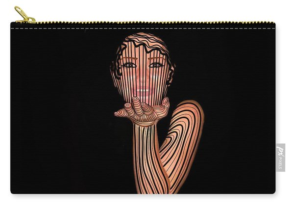 Mask Beautiful Aj Carry-all Pouch