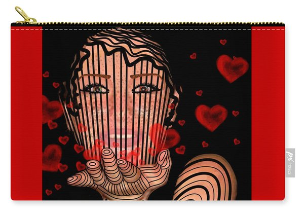 Mask Of Valentine Carry-all Pouch