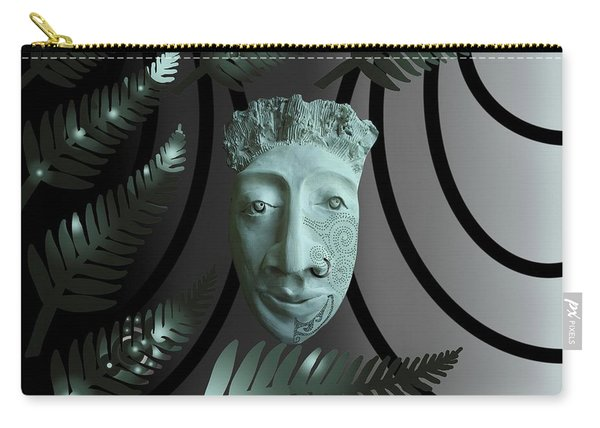 Mask The Maori Warrior Carry-all Pouch
