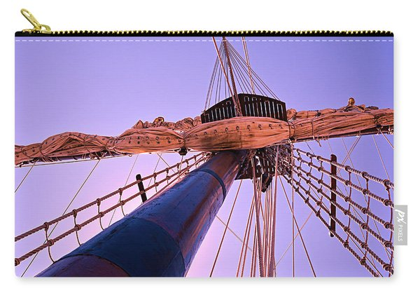 Mast And Sails Carry-all Pouch
