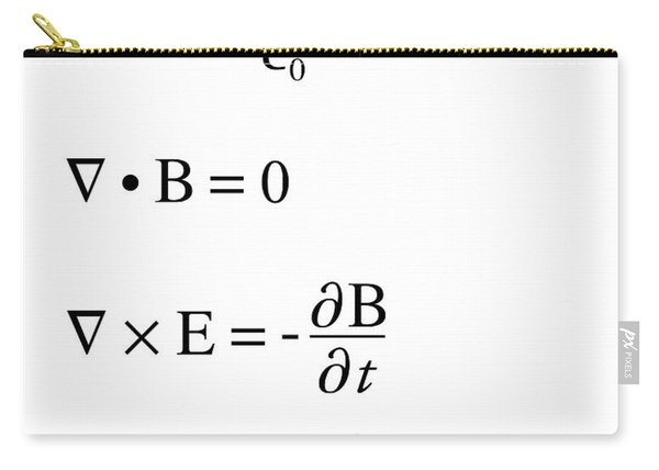 Maxwell's Equations Carry-all Pouch