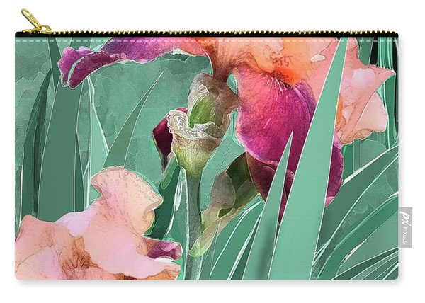 May Garden Carry-all Pouch
