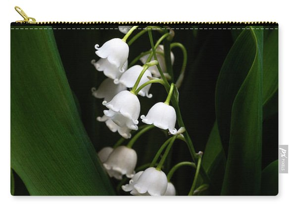 May Lily Aka Lily Of The Valley Carry-all Pouch