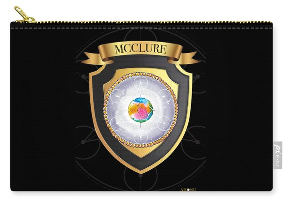 Mcclure Family Crest Carry-all Pouch
