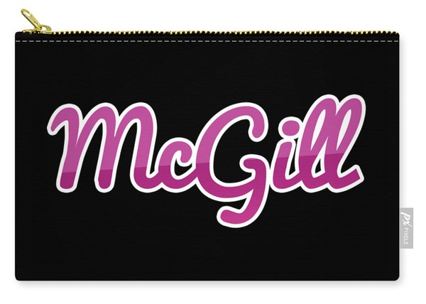 Mcgill #mcgill Carry-all Pouch