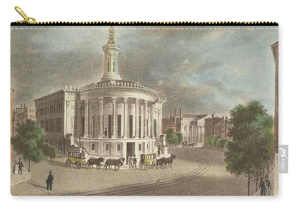 Merchants Exchange, 1838 Carry-all Pouch