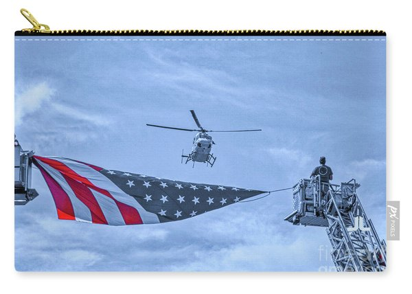 Mercy Flight Of Western New York Carry-all Pouch