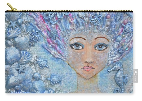 Mermaid Lady Carry-all Pouch