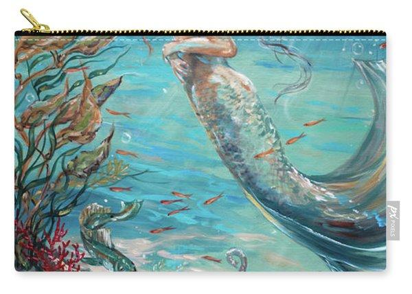Mermaid Neighbors Carry-all Pouch