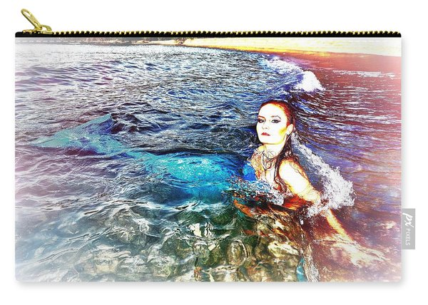 Mermaid Shores Carry-all Pouch