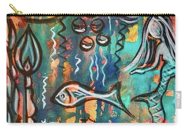 Mermaids Dream Carry-all Pouch