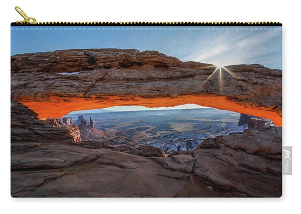 Mesa Arch Sunrise 2017 Carry-all Pouch