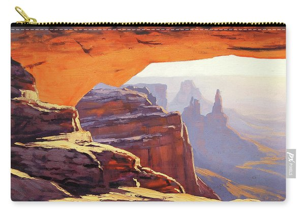 Mesa Arch Sunrise Carry-all Pouch